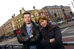 Photo published in the South London Press in January 2009