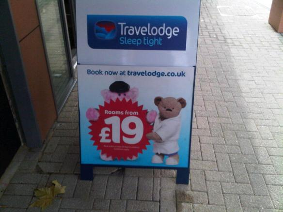 Book rooms in Travelodge from £19