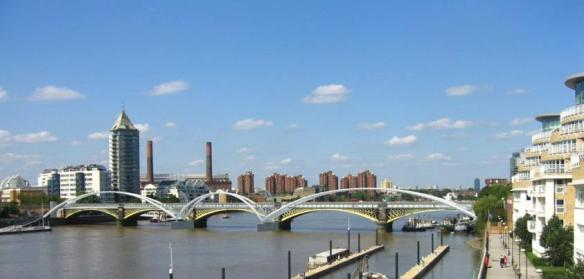 Photo: One-world design are progressing the Architect view of Diamond Jubilee Footbridge