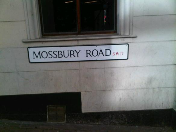Mossbury Road, right beside Clapham Junction station is now in SW17