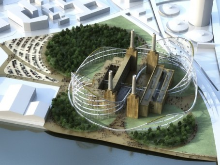 AZC project of Museum of architecture for Battersea Power Station - March 2013