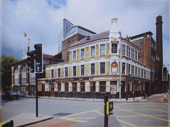 Developer's image of The Brewery Tap (from Garratt Lane) taken with a 24mm wide angle lense