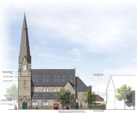 St Pauls Elevation proposal