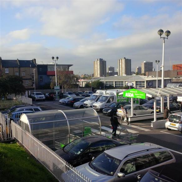 View from Lavender Hill/Asda