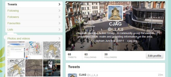 CJAG is now on Twitter @c_j_a_g