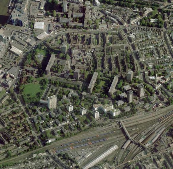 Winstanley and York Road area subject to redevelopment