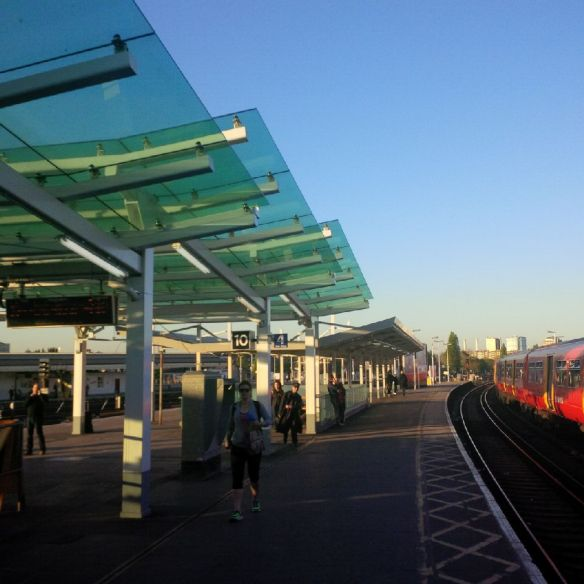 Canopy on platform 10