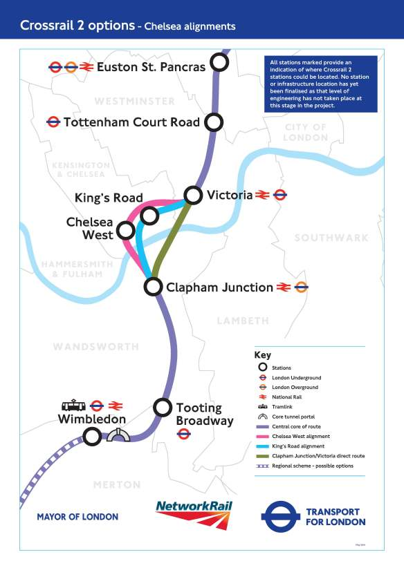 2. Crossrail Chelsea alignments-b- FINAL