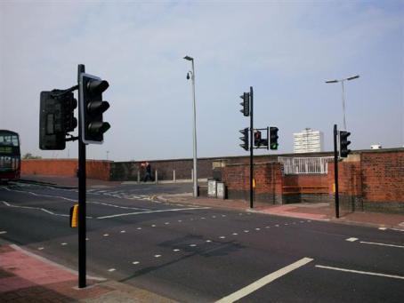 Brighton Yard crossing