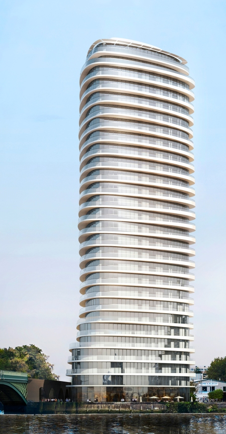 28 storey tower proposed for Lombard Road, SW11