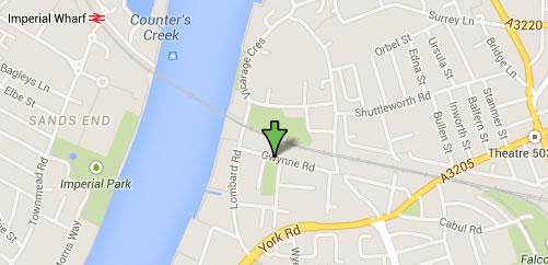 56 - 66 Gwynne Road MAP