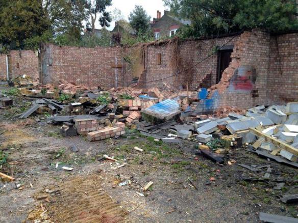 Site Shortly After Demolition